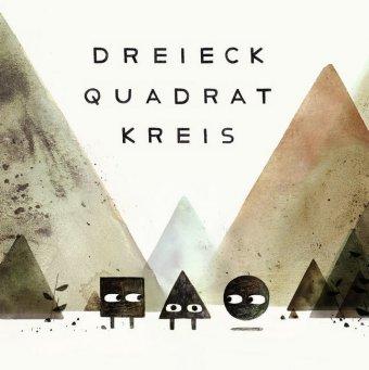 Dreieck Quadrat Kreis, 3 Bde.