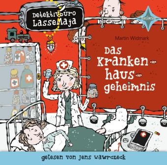 Detektivbüro LasseMaja - Das Krankenhausgeheimnis, 1 Audio-CD