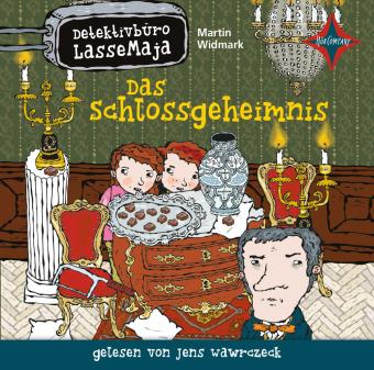 Detektivbüro LasseMaja - Das Schlossgeheimnis, 1 Audio-CD