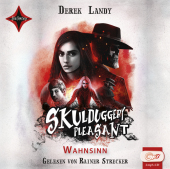 Skulduggery Pleasant - Wahnsinn, 2 MP3-CDs