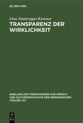 Transparenz der Wirklichkeit