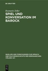 Spiel und Konversation im Barock