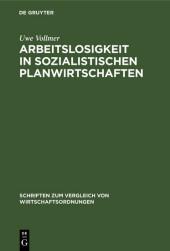 Arbeitslosigkeit in sozialistischen Planwirtschaften