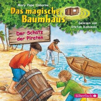 Das magische Baumhaus - Der Schatz der Piraten, 1 Audio-CD
