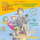 Miss Elli legt los / Miss Elli und die magische Hunderettung, 1 Audio-CD Cover