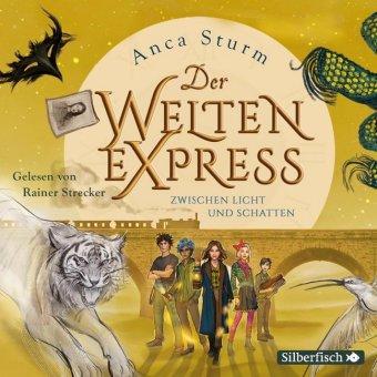 Der Welten-Express - Zwischen Licht und Schatten, 5 Audio-CDs