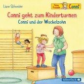 Conni geht zum Kinderturnen / Conni und der Wackelzahn, 1 Audio-CD Cover