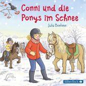 Conni und die Ponys im Schnee, 1 Audio-CD Cover