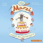 Das Marzi rettet die Tortentiere, 1 Audio-CD Cover