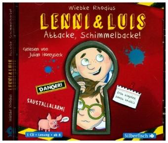 Lenni und Luis - Attacke, Schimmelbacke!, 1 Audio-CD