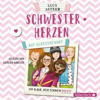 Schwesterherzen - Auf Klassenfahrt, 2 Audio-CDs