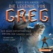 Die Legende von Greg - Der krass katastrophale Anfang der ganzen Sache, 4 Audio-CDs Cover