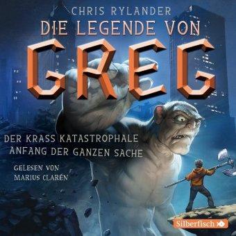 Die Legende von Greg - Der krass katastrophale Anfang der ganzen Sache, 4 Audio-CDs