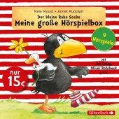 Der kleine Rabe Socke - Meine große Hörspielbox, 3 Audio-CDs Cover