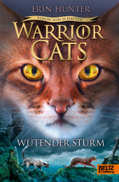 Warrior Cats - Vision von Schatten. Wütender Sturm Cover