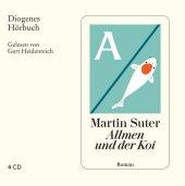 Allmen und der Koi, 4 Audio-CDs Cover