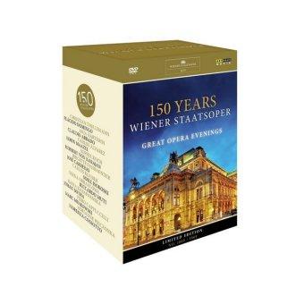 150 Years Wiener Staatsoper - Great Opera Evenings, 11 DVDs