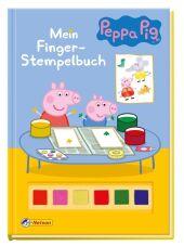 Peppa Pig: Mein Finger-Stempelbuch