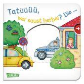 Tatüüüü, wer saust herbei? Die ... Polizei! - Großausgabe Cover
