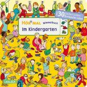Hör mal: Wimmelbuch: Im Kindergarten Cover