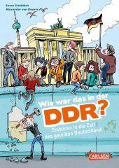 Wie war das in der DDR? Cover
