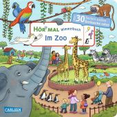 Hör mal: Wimmelbuch: Im Zoo Cover