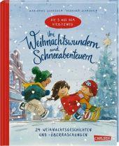 Die 3 aus dem Kiebitzweg - Von Weihnachtswundern und Schneeabenteuern Cover