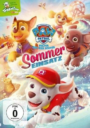 Paw Patrol: Sommer Einsatz, 1 DVD