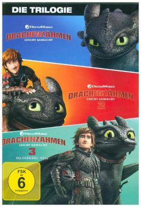 Drachenzähmen leicht gemacht 1 - 3 Movie Collection, 3 DVD