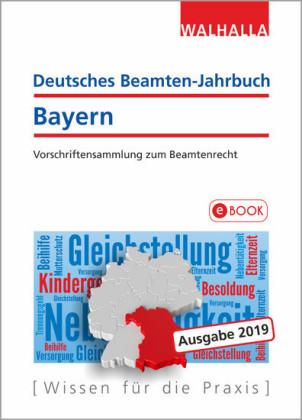 Deutsches Beamten-Jahrbuch Bayern Jahresband 2019