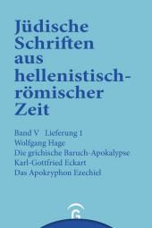 Die griechische Baruch-Apokalypse. Das Apokryphon Ezechiel