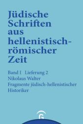 Fragmente jüdisch-hellenistischer Historiker