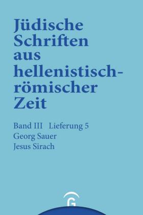 Jesus Sirach (Ben Sira)