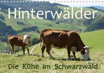 Hinterwälder - Die Kühe aus dem Schwarzwald (Wandkalender 2020 DIN A4 quer)