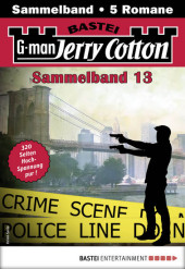 Jerry Cotton Sammelband 13 - Krimi-Serie