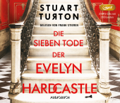 Die sieben Tode der Evelyn Hardcastle, 2 MP3-CD Cover