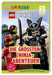 Superleser! LEGO® NINJAGO® Die größten Ninja-Abenteuer Cover