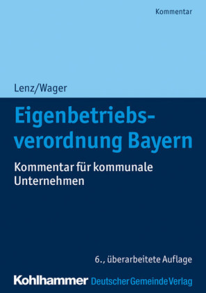 Eigenbetriebsverordnung Bayern