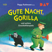 Gute Nacht, Gorilla! und weitere Einschlafhörspiele, 1 Audio-CD Cover