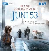 Juni 53. Ein Fall für Max Heller, 1 MP3-CD Cover