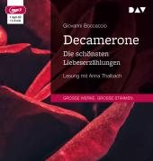 Decamerone. Die schönsten Liebeserzählungen, 1 MP3-CD