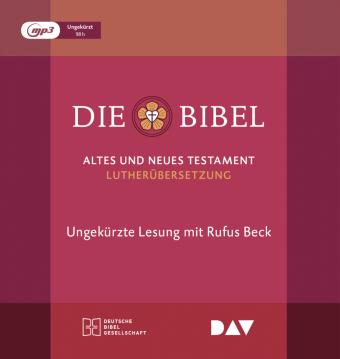 Die Bibel, Gelesen von Rufus Beck, 9 MP3