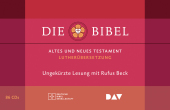 Die Bibel. Gelesen von Rufus Beck, 86 Audio-CDs