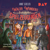 Waldo Wunders fantastischer Spielzeugladen, 2 Audio-CDs Cover