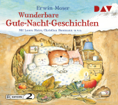 Wunderbare Gute-Nacht-Geschichten, 1 Audio-CD Cover