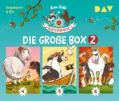 Die Haferhorde - Die große Box 2 (Teil 4-6), 6 Audio-CDs