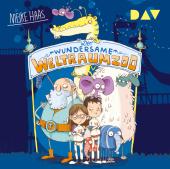 Der wundersame Weltraumzoo, 2 Audio-CDs Cover