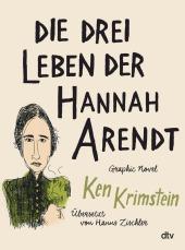 Die drei Leben der Hannah Arendt Cover