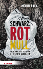 Schwarz. Rot. Müll Cover