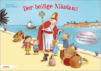 Der heilige Nikolaus. Bildkarten fürs Erzähltheater Kamishibai